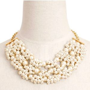 NWT Talbots Pearl Statement Necklace